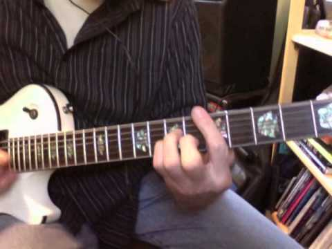 Learning Blues Guitar • Chapter Four • Solo With Rhythm Pattern Combination #2