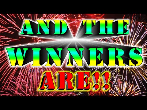 MrCoop's Epic Giveaway!! And the Winners Are!!