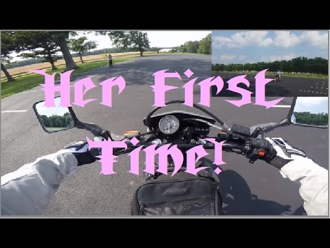 Learn to ride a Motorcycle Wife Edition #1