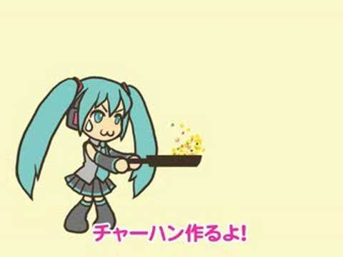 Miku Hatsune - (;`・ω・) Making Chao Fan (Fried Rice) for Dinner 【Original】