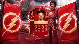 SUPER MANCHESTER CITY HERO! BEST EVER PLAYER OF THE MONTH SANE SQUAD! FIFA 18 ULTIMATE TEAM