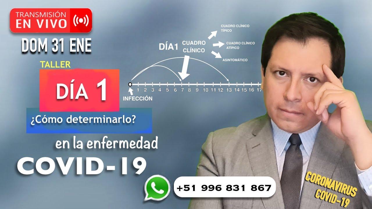 TALLER #1: ¿CÓMO DETECTAR EL DÍA 1 EN LA ENFERMEDAD COVID-19?