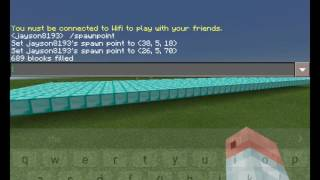 Download How to use fill command in minecraft pe any version Video