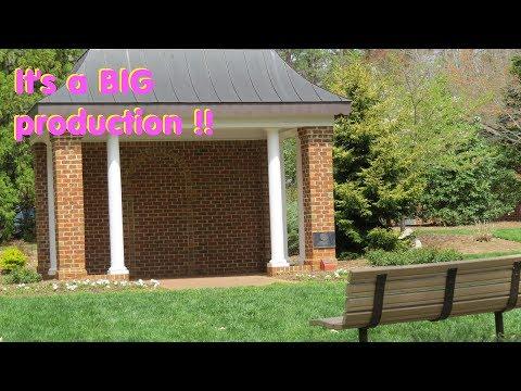 Greensboro, NC, -Bog Garden & Bicentennial Garden