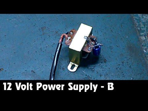 12 Volt Supply [ Part B ] Hindi Electronics ELECTRO INDIA