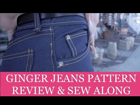 Ginger Jeans - Pattern Review And Sew Along