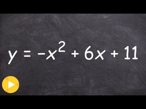 How do you convert from standard form to vertex form of a quadratic