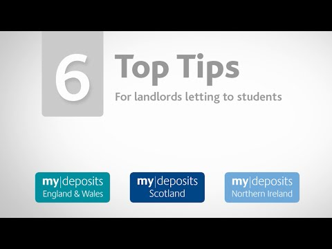 6 Top Tips for Landlords Letting to Students