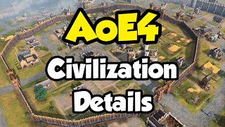 AoE4 - more info about civilizations revealed!