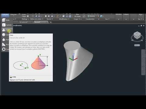Autocad volume 3D
