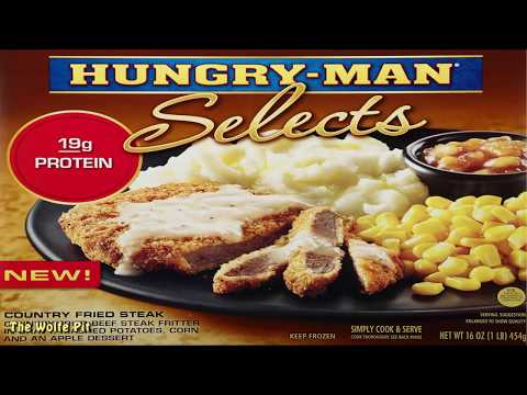 Hungry Man Select's Country Fried Steak Dinner! - WHAT ARE WE EATING?? - The Wolfe Pit