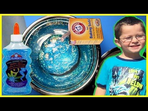 How to make SLIME with BAKING SODA !! Slime Safe for Kids | BAKING SODA SLIME