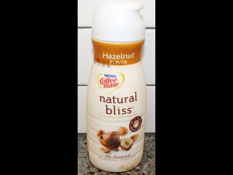 Nestle Coffee-Mate Natural Bliss: Hazelnut Review