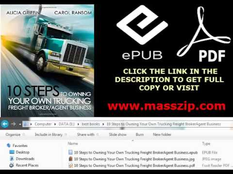10 Steps To Owning Your Own Trucking Pdf