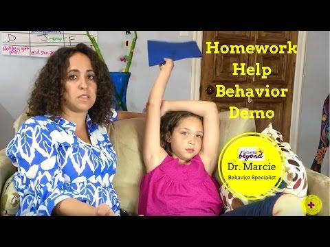 How to Get Kids to Do Their Homework: Behavior Strategy Demo