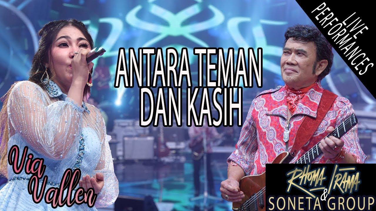 Download RHOMA IRAMA & SONETA FT. VIA VALLEN - ANTARA TEMAN DAN KASIH (LIVE) MP3 Gratis