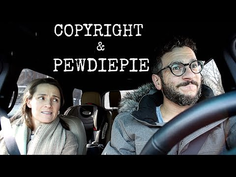 Copyright, PewdiePie, and Gru from Despicable Me!