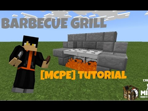 Barbecue Grill{Tutorial}[MinecraftPE]
