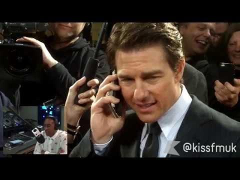 Tom Cruise calls KISS FM (UK) to talk 'Edge of Tomorrow'