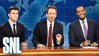 Download Weekend Update: Really!?! with Seth Meyers, Colin Jost and Michael Che - SNL Video
