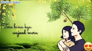 Sad Whatsapp Status | Hum Tere Bin Ab Reh Nahi Sakte Female Version