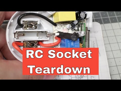 Remote Controlled Socket Teardown And Schematic