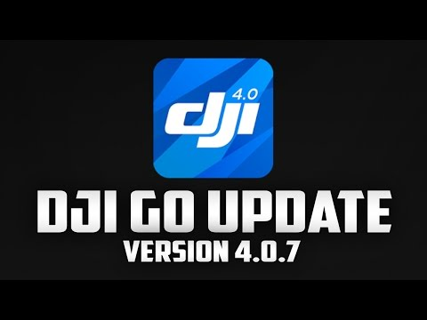 DJI Go Update v4.0.7 - Find My Drone & No-Fly Zone