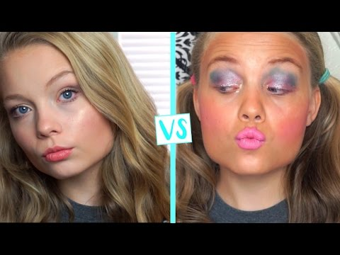 Child You Vs. Teen You School Makeup Routine!