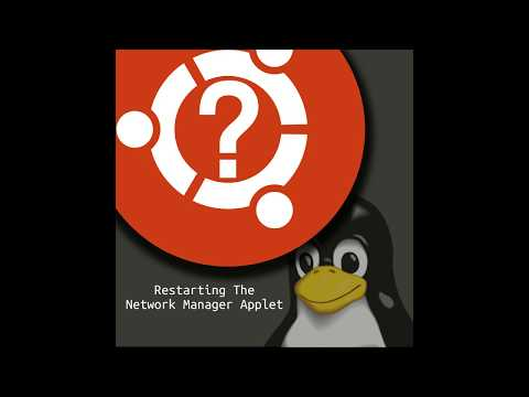 Ubuntu How To - Restart The Network Manager Applet