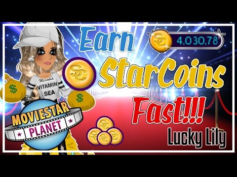 5 EASY WAYS TO GET STARCOINS FAST ON MOVIESTARPLANET 2017! // Lucky Lily MSP