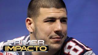 Exfutbolista de la NFL Aaron Hernández se ahorcó con una sábana en su celda de Massachusetts