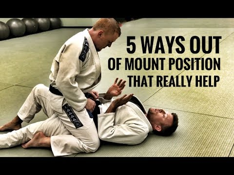 Jiu-Jitsu Escapes | 5 Ways Out of The Mount