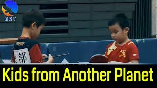 AMAZING TABLE TENNIS MATCH: 1st Grade Kids Champion