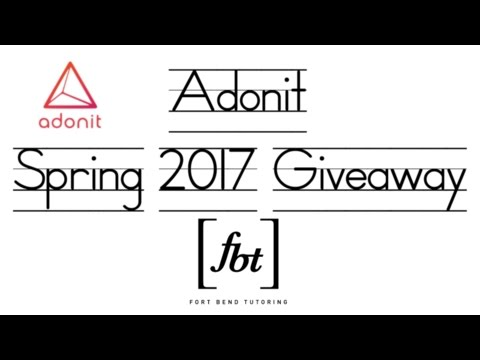 Adonit Stylus Spring 2017 Giveaway [fbt] (Closed)