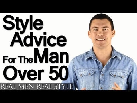 Style Advice For Man Over 50 - 5 Tips On How Older Men Should Build A Wardrobe