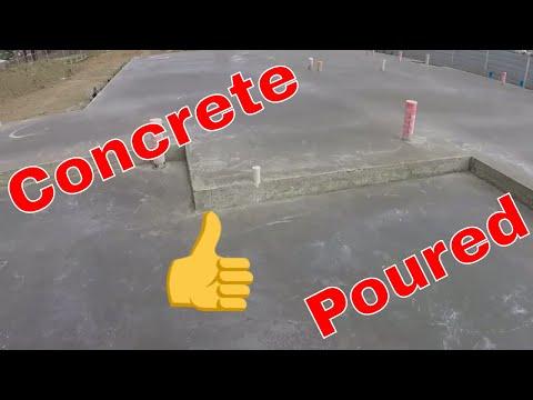 Concrete Poured 7th Day