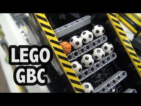 LEGO Great Ball Contraption at Philly Brick Fest 2018