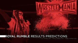 WWE Royal Rumble 2017 - Results Predictions
