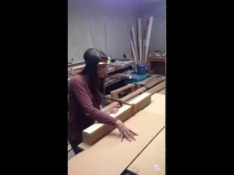 How to cut boards for canvas use