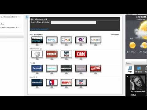 How to Make Bookmarks in Tizit. Personalized Online Bookmarks with the Tizit Bookmark Manager