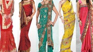 5 Different Ways of Wearing Saree For Wedding to Look Slim & Tall  Tips & Ideas to Drape Saree Pallu