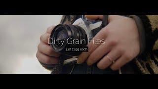 Dirty Grain Pack I 4K Film Grain Files