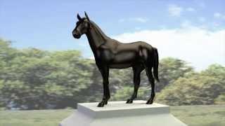 Horse Statue Animation
