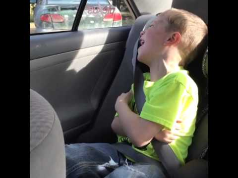 When your kids fall asleep in the car