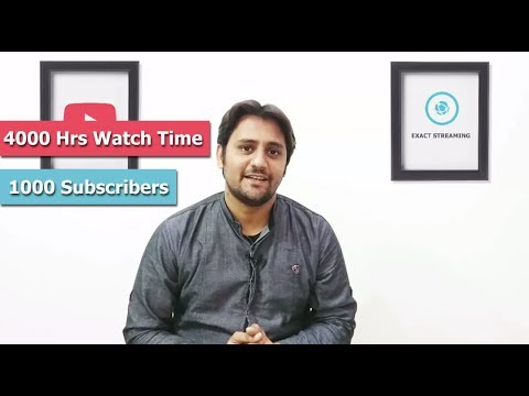 How to Get 4000Hrs Watch Time Quickly Tips & Tricks Youtube New Policy