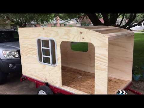 how to build a teardrop camper squaredrop camper episode 1