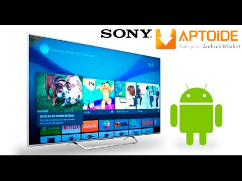 How to install Aptoide Market in Your Sony Android TV