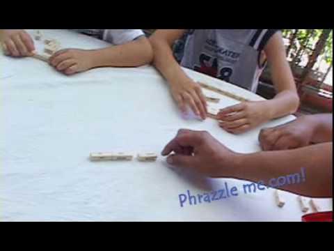 The Fun Learn English Game - Phrazzle Me!