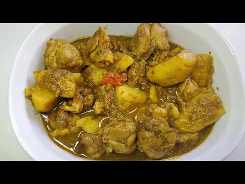 Chicken Curry, step by step Video Recipe II Real Nice Guyana. (HD)
