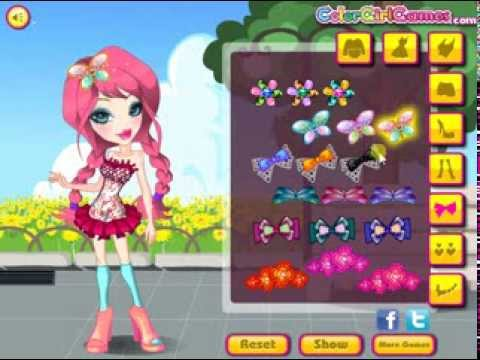 Cute Bratz Doll Dressup Fashion And Makeup Game For Girls